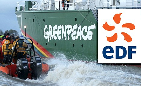 The Rainbow Warrior III, the newest ship of the enivornmental co